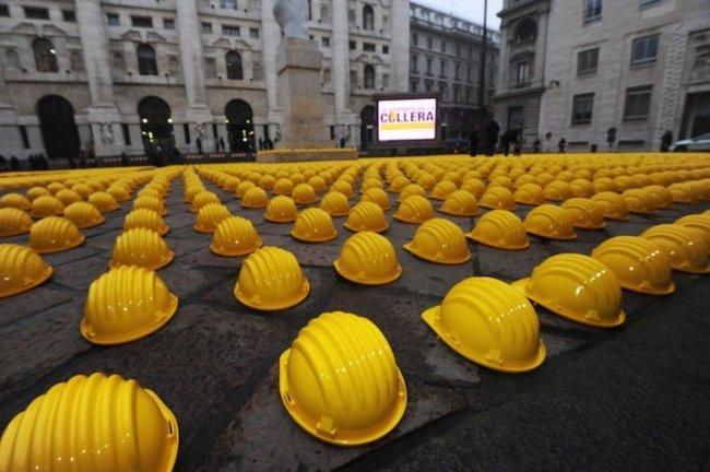 Строительная забастовка по-итальянски (8 фото)