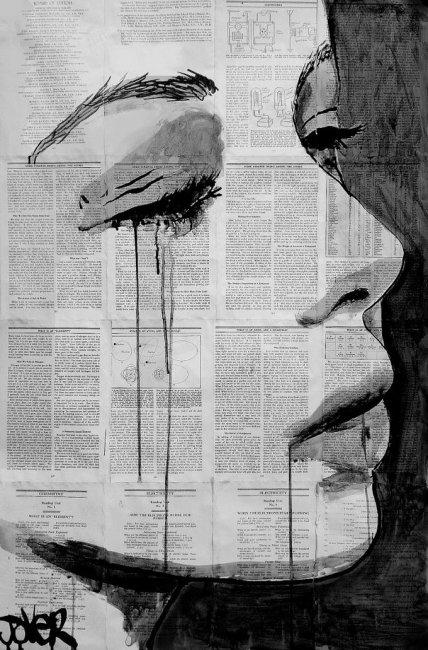 Рисунки чернилами от Loui Jover (9 фото)