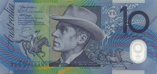 Разломав 10-долларовую австралийскую купюру пополам, вы получите две законные 5-долларовые купюры