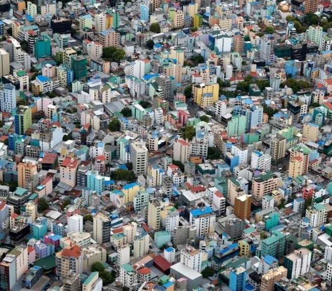 Мале, город, окруженный водой (20 фото)