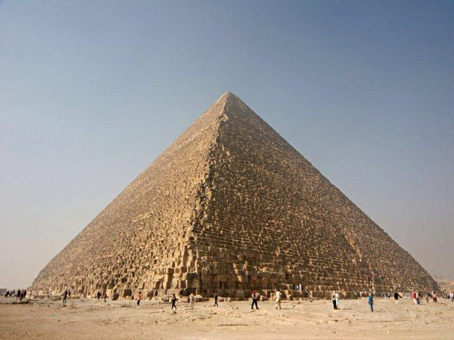 Интересные факты о пирамиде Хеопса