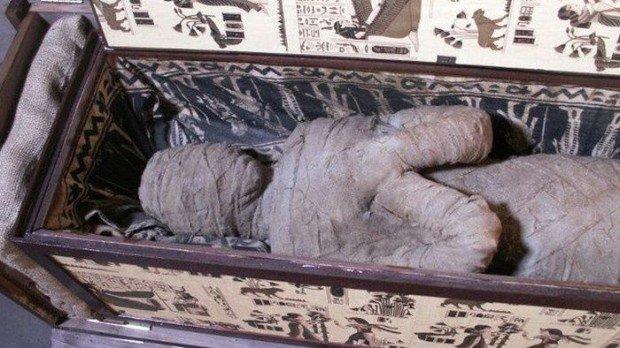 Немецкий мальчик нашел древнюю египетскую мумию на чердаке своей бабушки