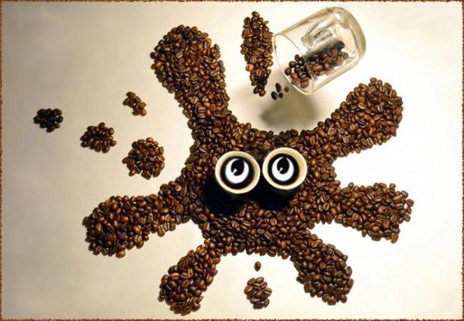 Кофейные фантазии от Ирины Никитиной (17 фото)