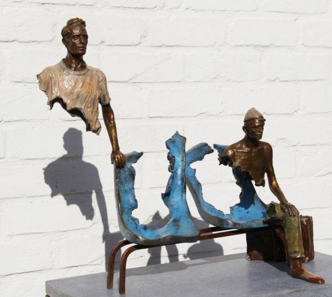 Необычные скульптуры Бруно Каталано (9 фото)