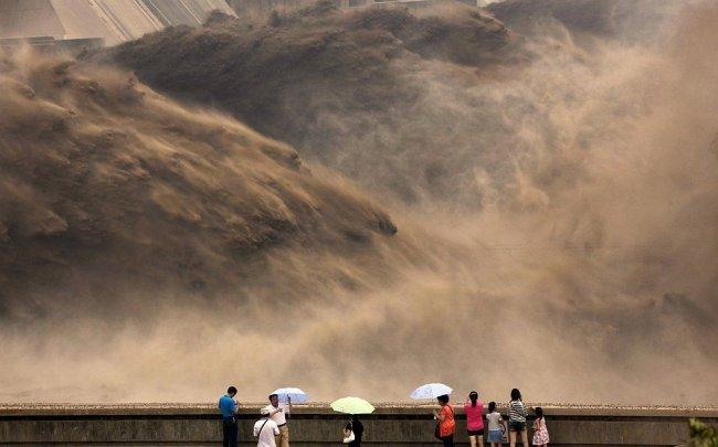 Желтая река Хуанхэ - Китай (14 фото)