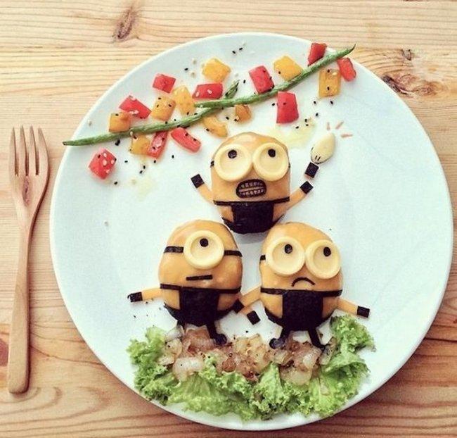 Эксперименты с едой от Саманты Ли (16 фото)