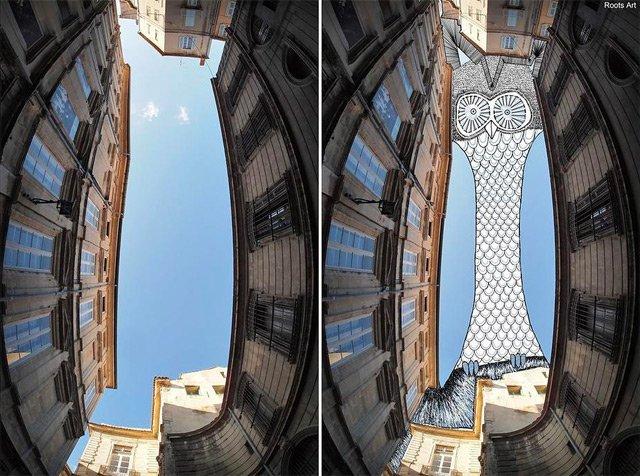 Взгляд в небо от Томаса Ламадью (7 фото)