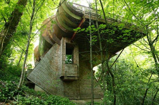 Резиденция в гармонии с природой (14 фото)