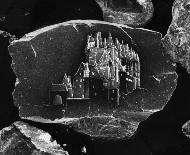 Замки на песчинках (8 фото)