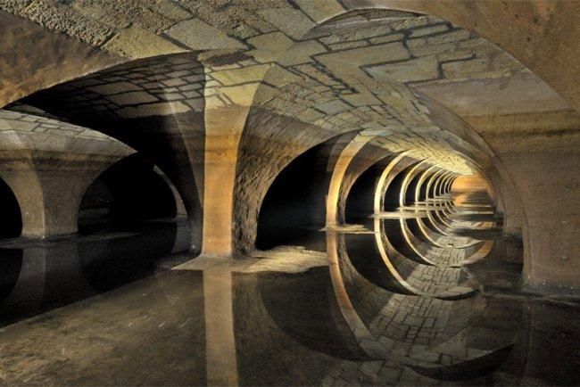 Фото дня 24.04.2014 - подземелье Версаля