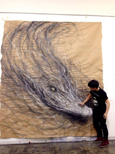 Живые картины животных от Фиона Тан (5 фото)