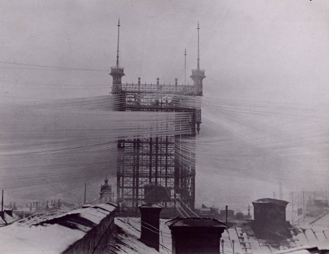 Телефонный узел в Швеции более 100 лет назад (10 фото)