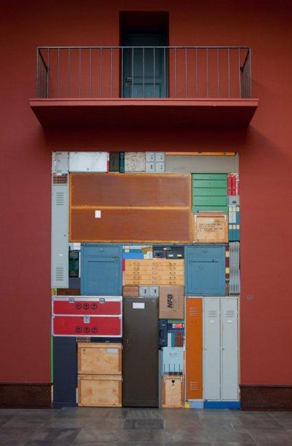 Скульптуры в стиле тетриса от Майкла Йоханссона (12 фото)