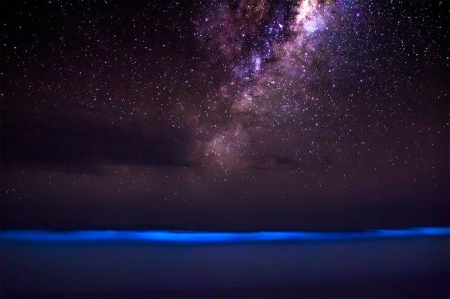 Граница космоса и океана (фото дня - 22.08.2014)