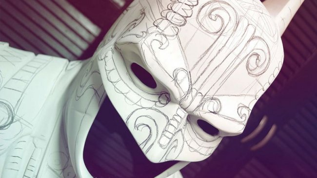 Костюм Бэтмена в стиле майя (12 фото)