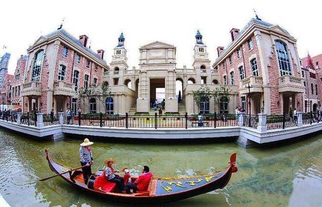 Китайская Венеция - Далянь (4 фото)