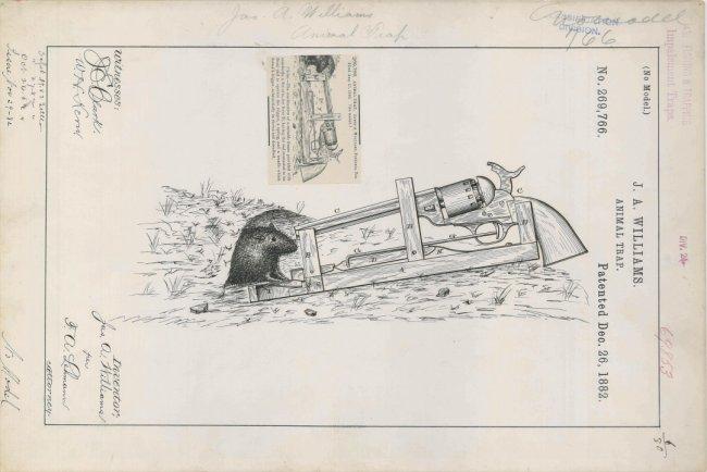 Мышеловка 1882 года выпуска