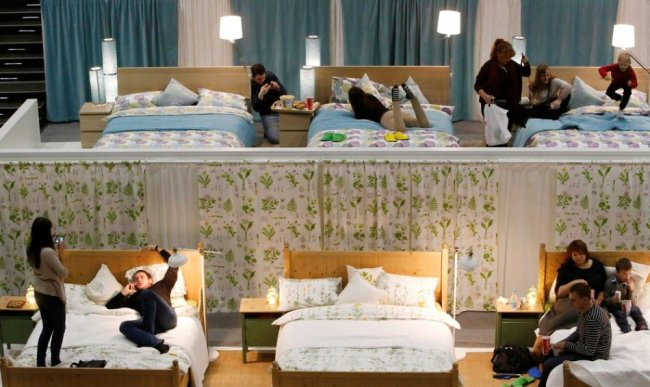 Кровати вместо сидений (11 фото)