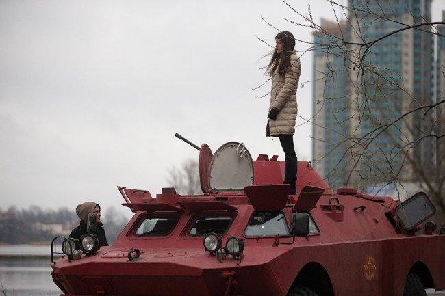 Необычное такси в Санкт-Петербурге (5 фото)