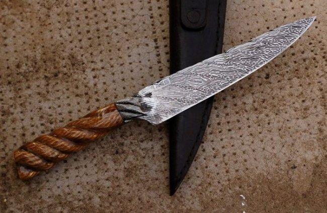 Красивые ножи от неизвестного автора (30 фото)