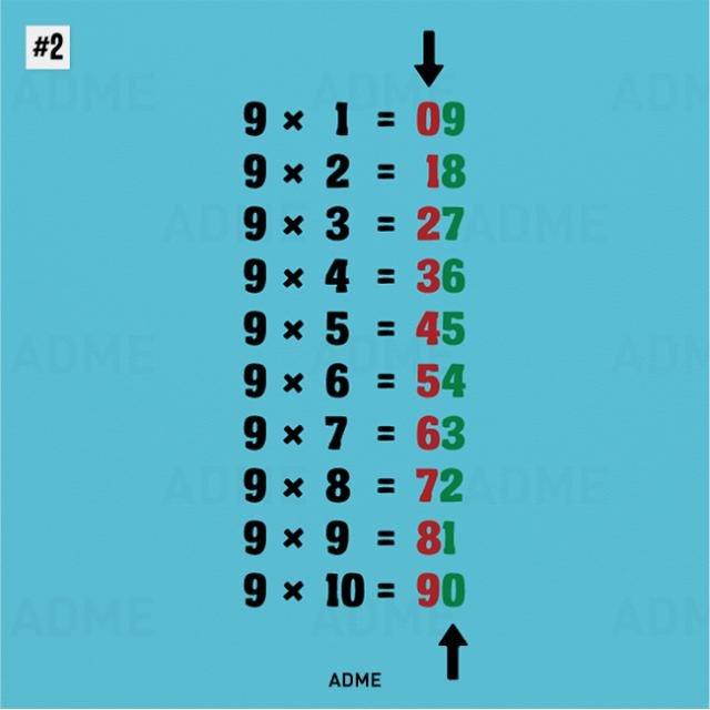 Математические трюки (10 фото)