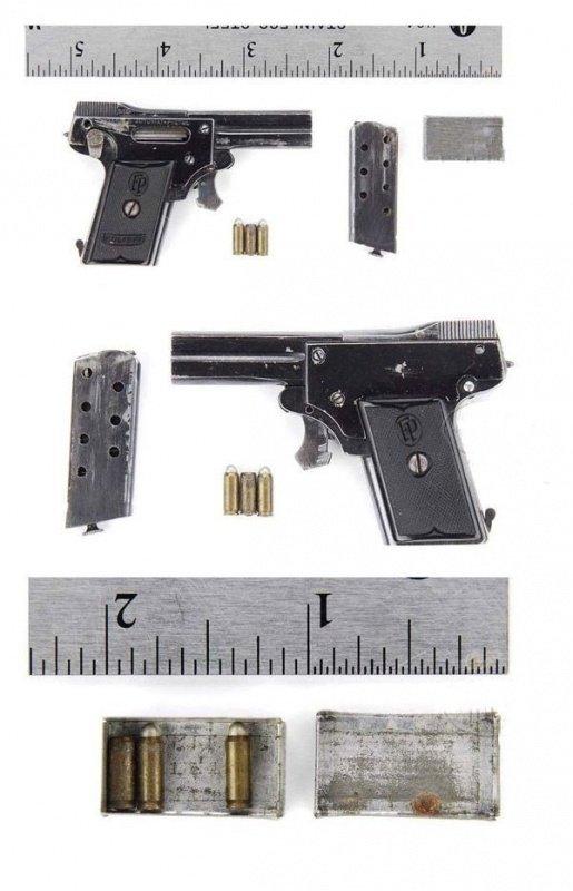 """Мелкокалиберный пистолет """"Калибри"""" (7 фото)"""
