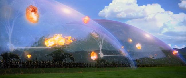 Силовое поле из звёздных войн запатентовано «Боинг» (2 фото)
