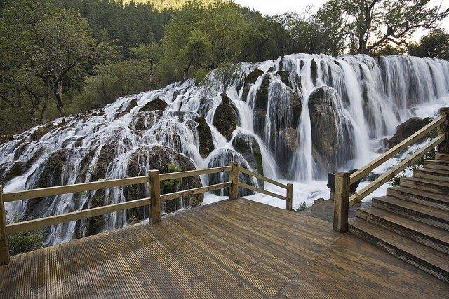 Водопад Жемчужина (3 фото)