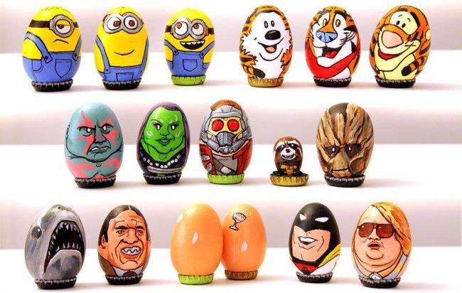 Пасхальные яйца от Барак Хардли (4 фото + видео)