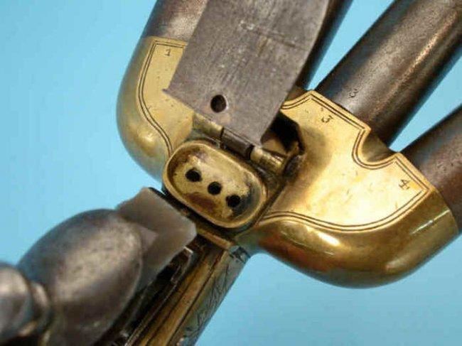 Многоствольный залповый пистолет (11 фото)