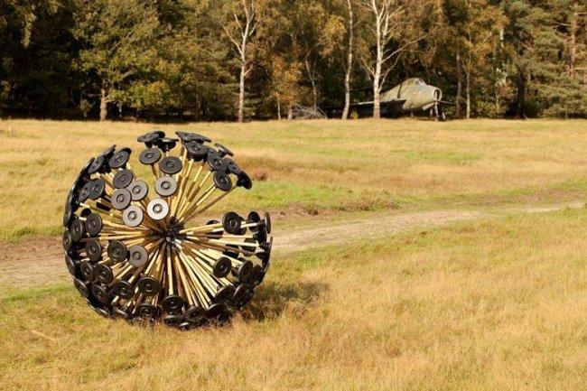 Mine Kafon  деонатор мин (15 фото)