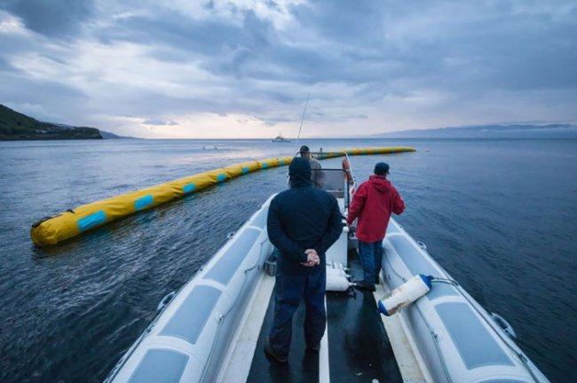 Система очистки мирового океана (9 фото)