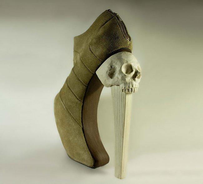 Необычная обувь Кермита Тесоро (8 фото)
