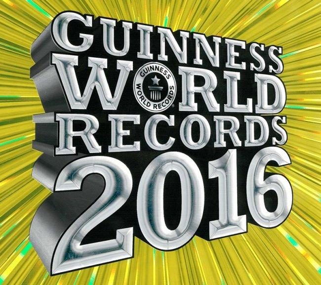 Удивительные рекорды Книги рекордов Гиннесса 2016 (20 фото)