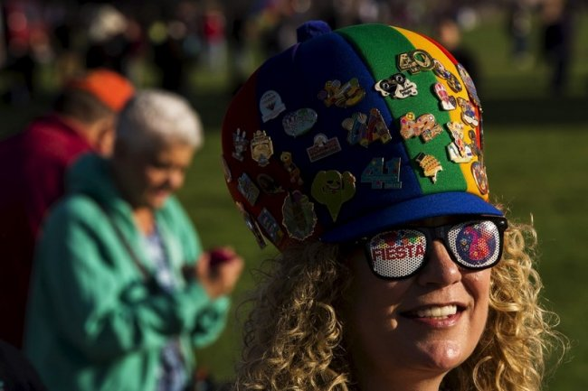 Международная фиеста воздушных шаров (22 фото)