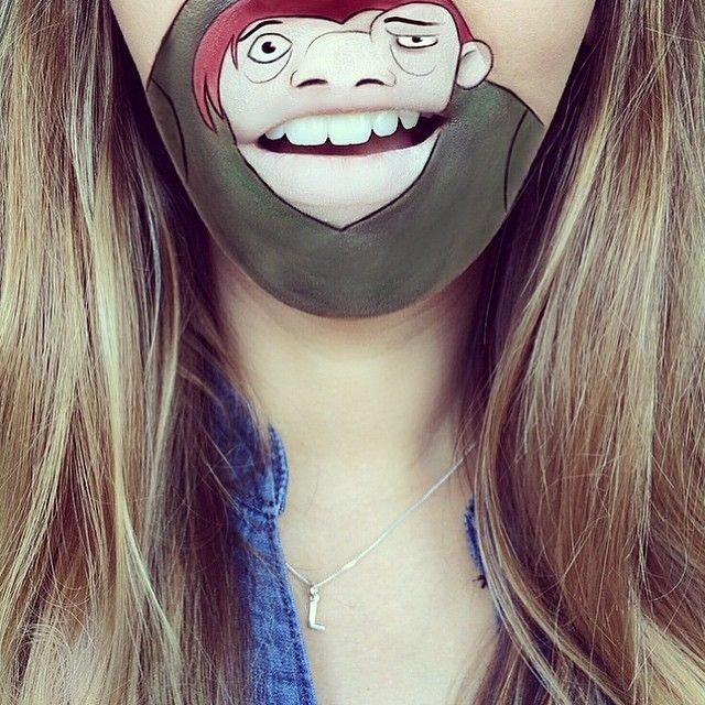 Мультяшные губы от Лауры Дженкинсое (21 фото) - часть 2