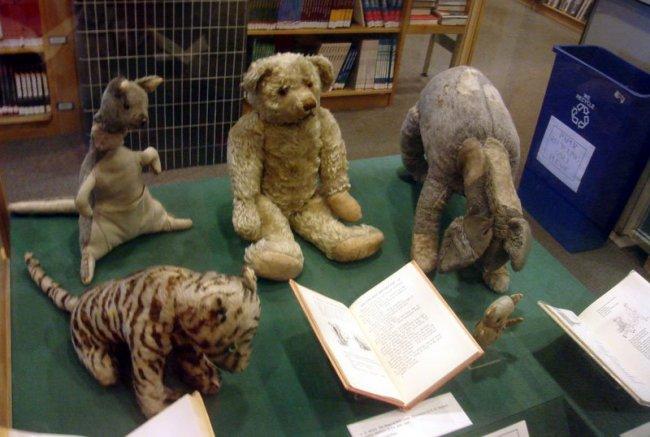 Игрушки, которые вдохновили Милна написать сказку о Вини-Пухе