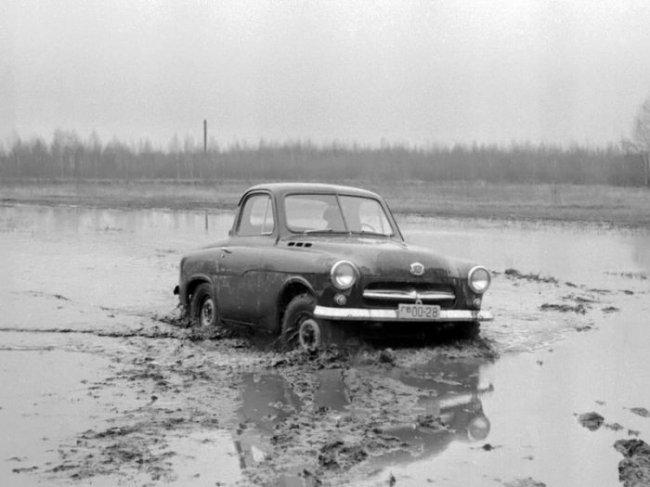 Советский внедорожник ГАЗ М-73 (5 фото)
