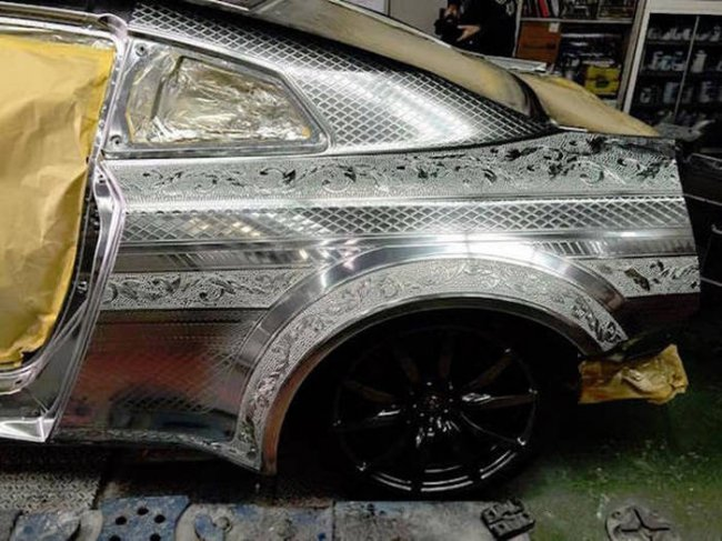 Невероятная роспись автомобиля (25 фото)