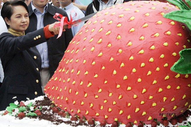 Самые большие торты в мире (5 фото)
