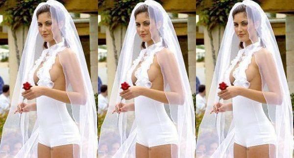 10 самых невероятных свадебных платьев (10 фото)