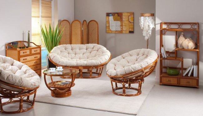 Мебель из ротанга: как выбирать?