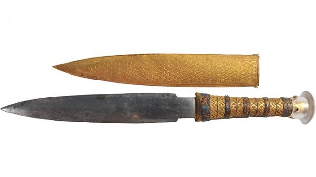 Нож Тутанхамона был сделан из метеорита
