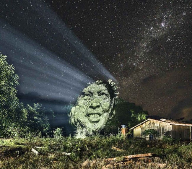 Человек и природа - единное целое в светопредставлении Филлиппа Ишару (7 фото)