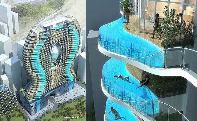 Отель в Мумбаи с бассейнами в каждом номере