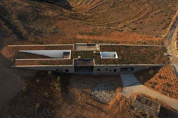 Необычные дома Греции (5 фото)