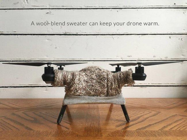 Свитера для дронов (9 фото)