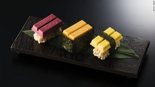 Сладкие суши от KitKat (6 фото)