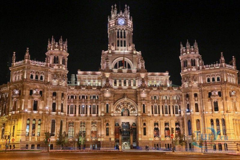История площади Сибелес (Мадрид, Испания)