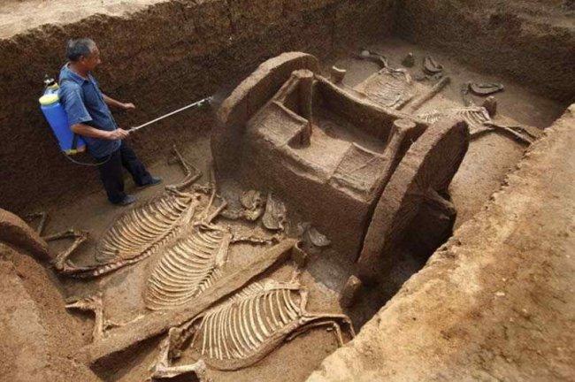 Уникальные археологические открытия